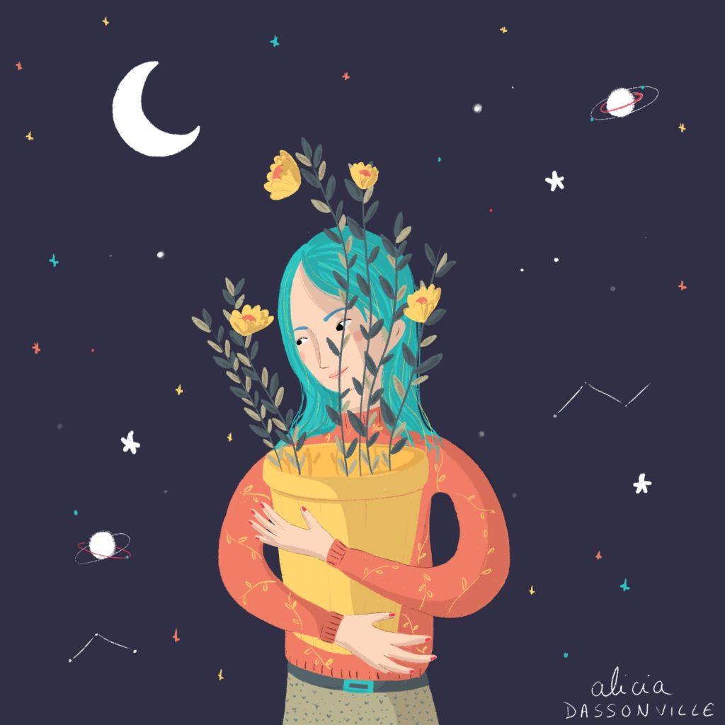 Flowers of moon